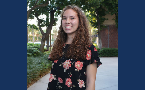 Amber Amortegui, incoming editor-in-chief of The Beacon Today, is completing an internship at WLRN, South Florida's National Public Radio station.
